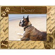 Giftworks Plus DBA0035 Boxer - Cropped, Alder Wood Frame, 5 x 7 In