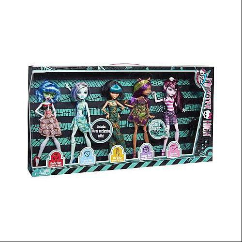 Monster High Skull Shores Doll 5-Pack by