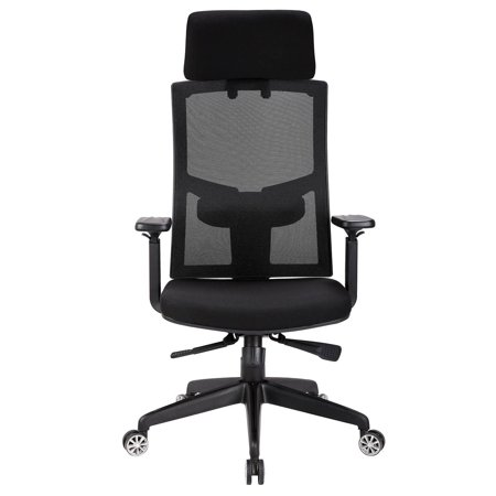 Ergonomic Mesh High Back Office Chair with Armrest and Adjustable