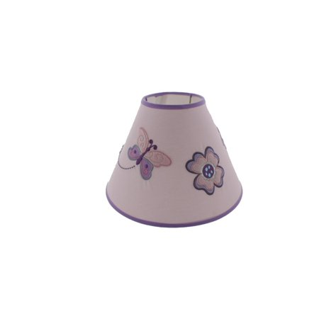 Koala Baby Infants Butterfly Nursery Lamp Shade Purple O/S ()