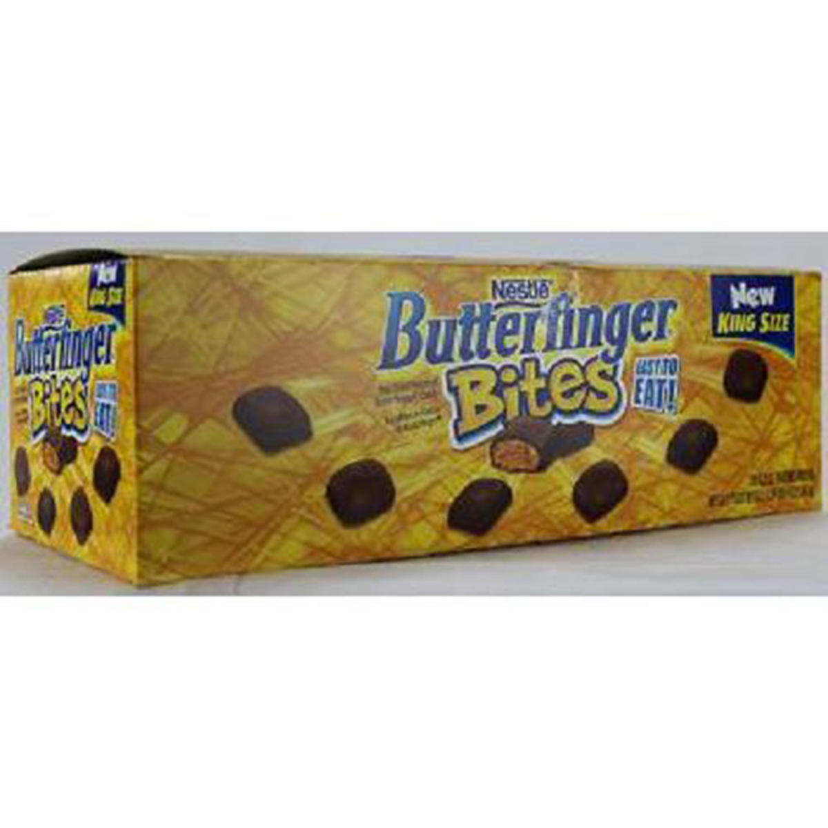 BUTTERFINGER KING SIZE BITES 3.2 oz Each ( 12 in a Pack )