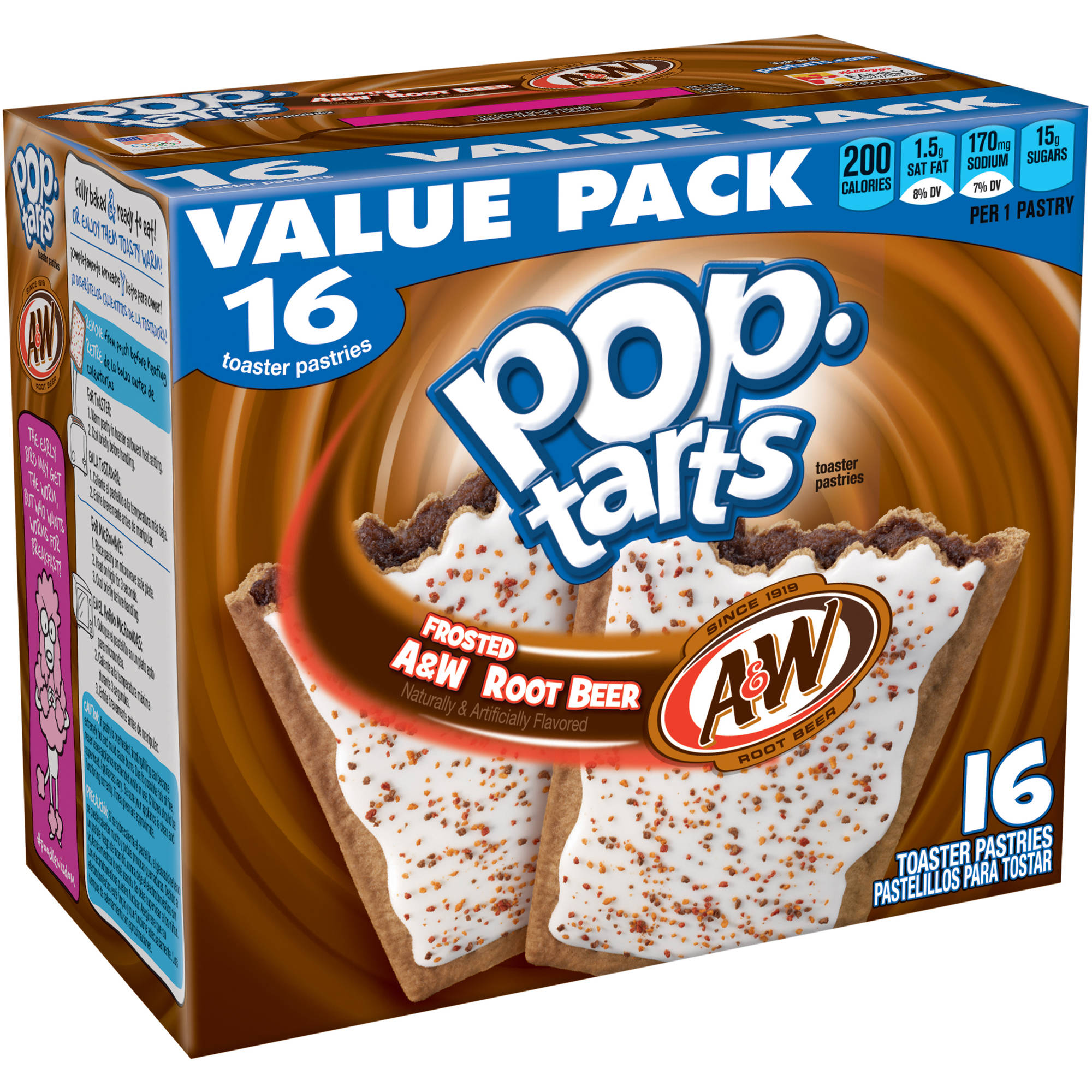 Pop-Tarts Frosted Variety Pack, 48 Toaster Pastries (24 ... |Walmart Cherry Pop Tarts