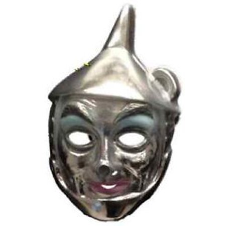 Tin Man PVC Mask Wizard Of Oz Adult Child Movie Costume Party Halloween (Smiley Movie Mask)