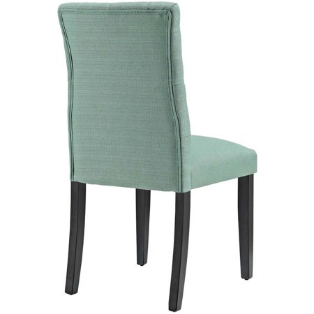 Hawthorne Collections Fabric Upholstered Dining Side Chair in Laguna - image 1 of 4