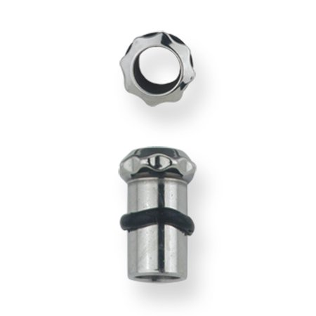 10mm Flesh Tunnel (Stainless Stl Plugs & Flesh Tunnels Hardware Theme 4G (5.189mm) Eight Tooth)