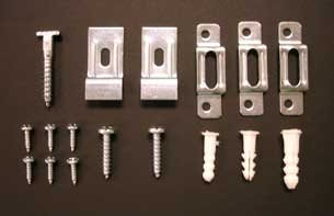 wrench ART DISPLAY SYSTEMS T-Lock security hangers locking hardware set 5 wood