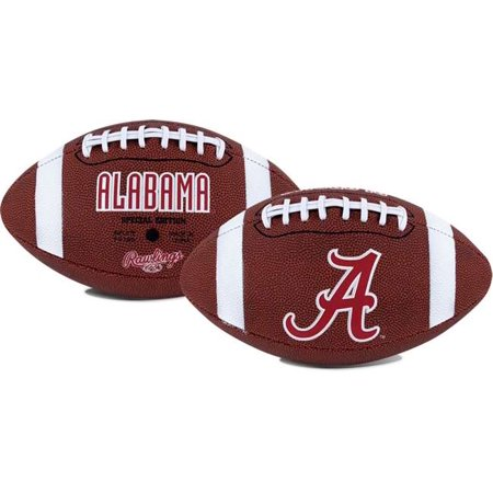 University of Alabama Crimson Tide Rawlings Game Time Full Size Football Team Logo](Univ Of Miami Football)