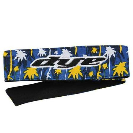- 2014 Dye Head Tie Paintball Headband - Cali Gold