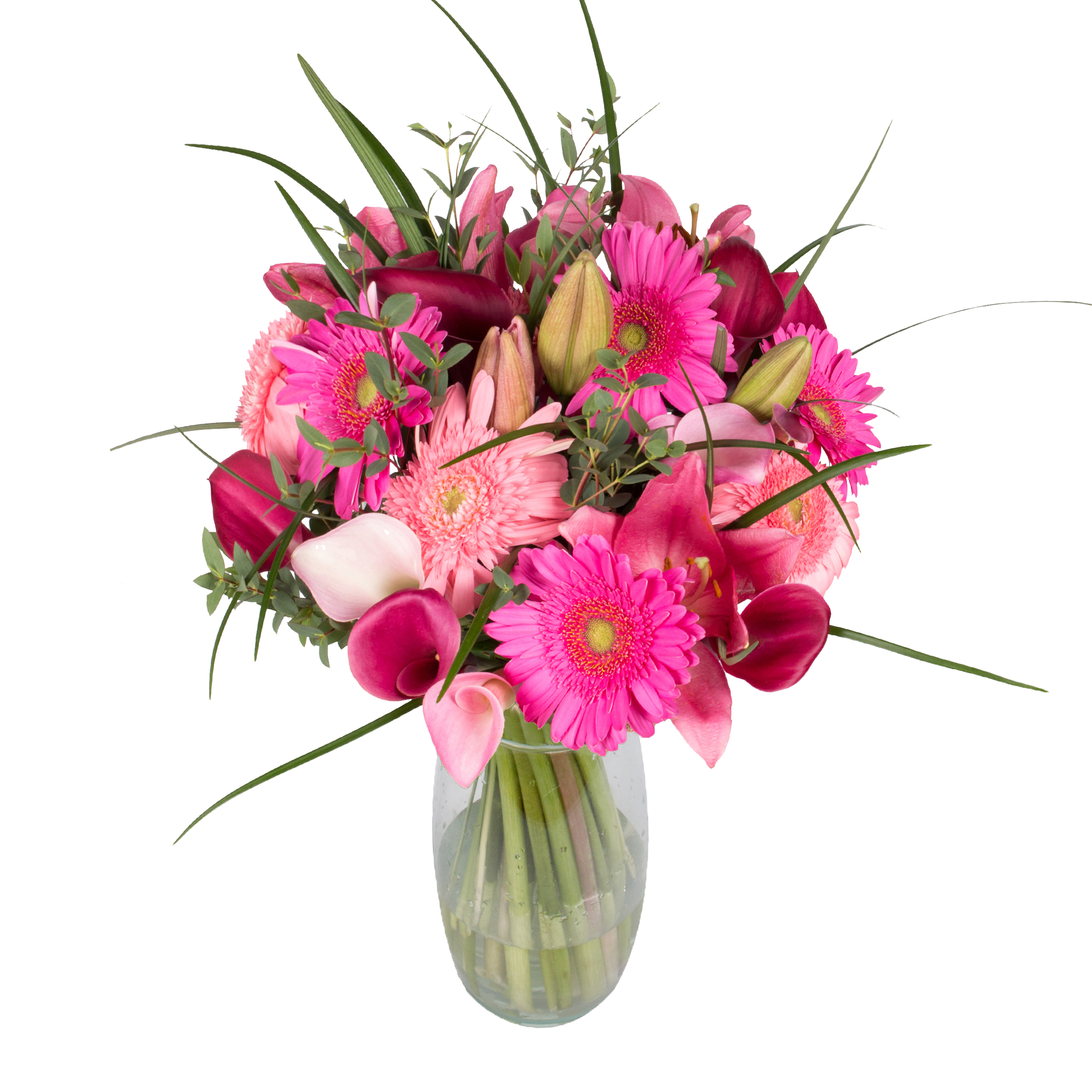 Pink Emma Bouquet - 33 Stems