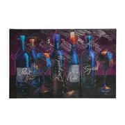 Evergreen Enterprises, Inc Wine Splash Framed Painting Print on Canvas