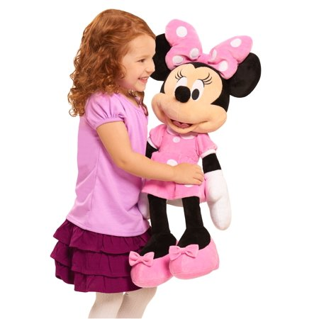 Disney Minnie Mouse Large Plush - Stuffed Animal Pigs