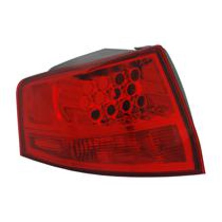 Go Parts 2007 2009 Acura Mdx Rear Tail Light Lamp Embly Lens Cover Left Driver 33551 Stx A01 Ac2818114 Replacement For