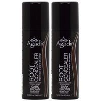 Agadir Root Concealer Gray Coverage Dark Brown, 2-ounce (Pack of2)