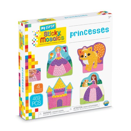 The Orb Factory My First Sticky Mosaics Princesses Kit