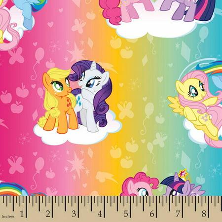 Hasbro, My Little Pony Ombre Toss, Cotton, Multi, 43/44