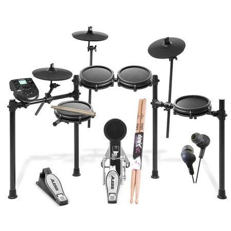 ght Piece Electronic Drum Kit + Ear Headphone + Drumsticks (Drumsticks Electronic Drums)