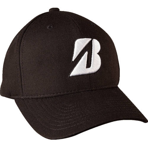 Bridgestone Golf, Tour Water Repel Cap, Black