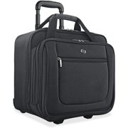 Solo USLPT1364 US Luggage Classic Rolling Laptop Portfolio Case, Black