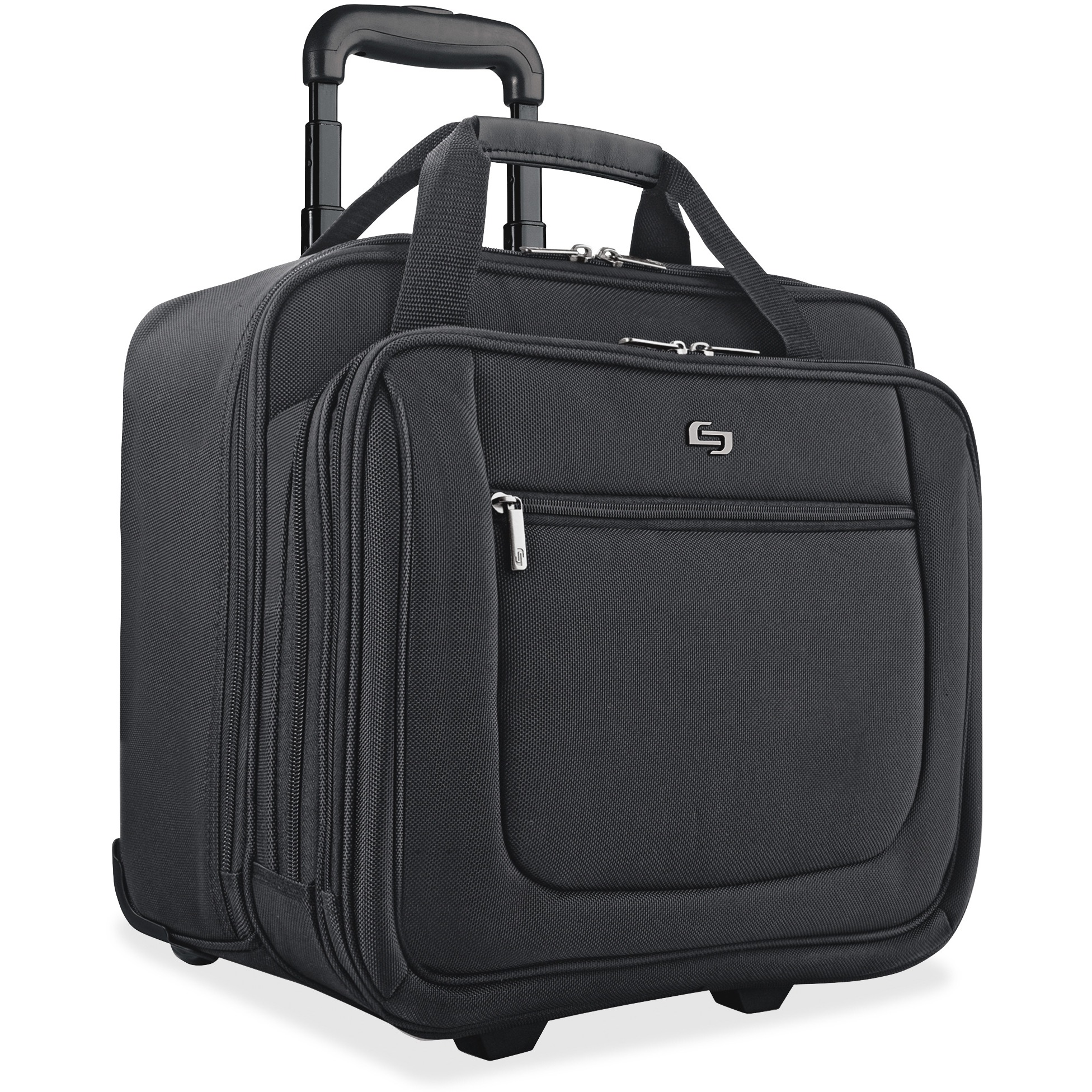 Solo, USLPT1364, US Luggage Classic Rolling Laptop Portfolio Case, 1, Black by Solo
