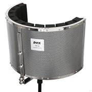 LyxPro VRI-20 Portable Acoustic Foam Isolation Microphone Shield, Sound Absorbing, Vocal Recording Panel, High Performance - Stand Mount