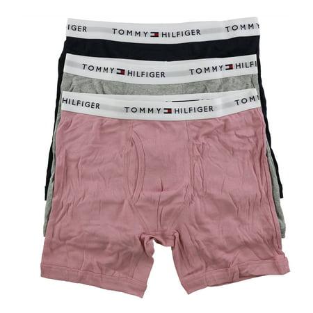 Tommy Hilfiger Mens Cotton Underwear Boxer Briefs, Multicoloured, Small