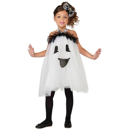 Ghost Tutu Toddler and Girls Costume