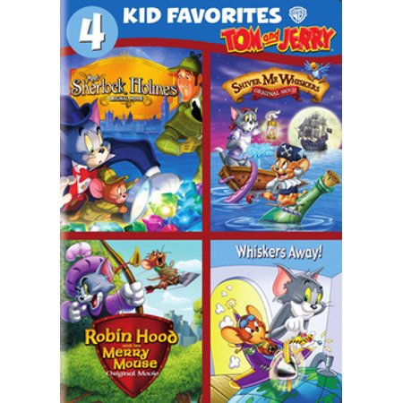4 Kids Favorites: Tom & Jerry (DVD)](Tom And Jerry Halloween Cartoons)