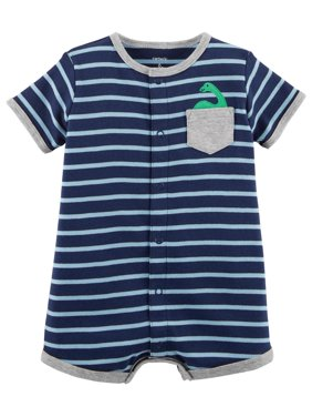 70081aeae1d Product Image Carter s Baby Boys  Striped Snap-Up Cotton Romper