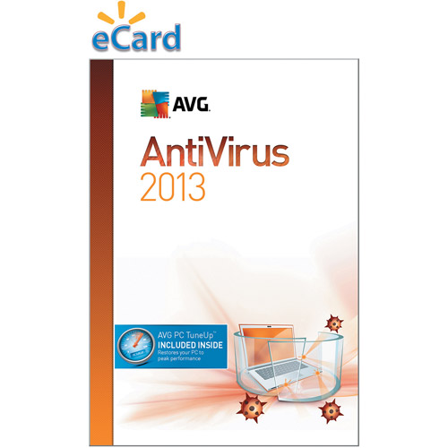 AVG Anti-Virus + PC TuneUp 2013 3-User 1-Year  $49.99 (Email Delivery)