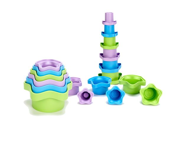 Green Toys My First Stacking Cups by Green Toys