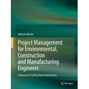 Project Management for Environmental, Construction and Manufacturing Engineers - eBook