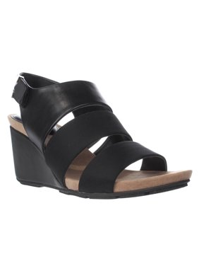14eabfd239beb1 Product Image Womens A35 Elleana Strappy Wedge Sandals