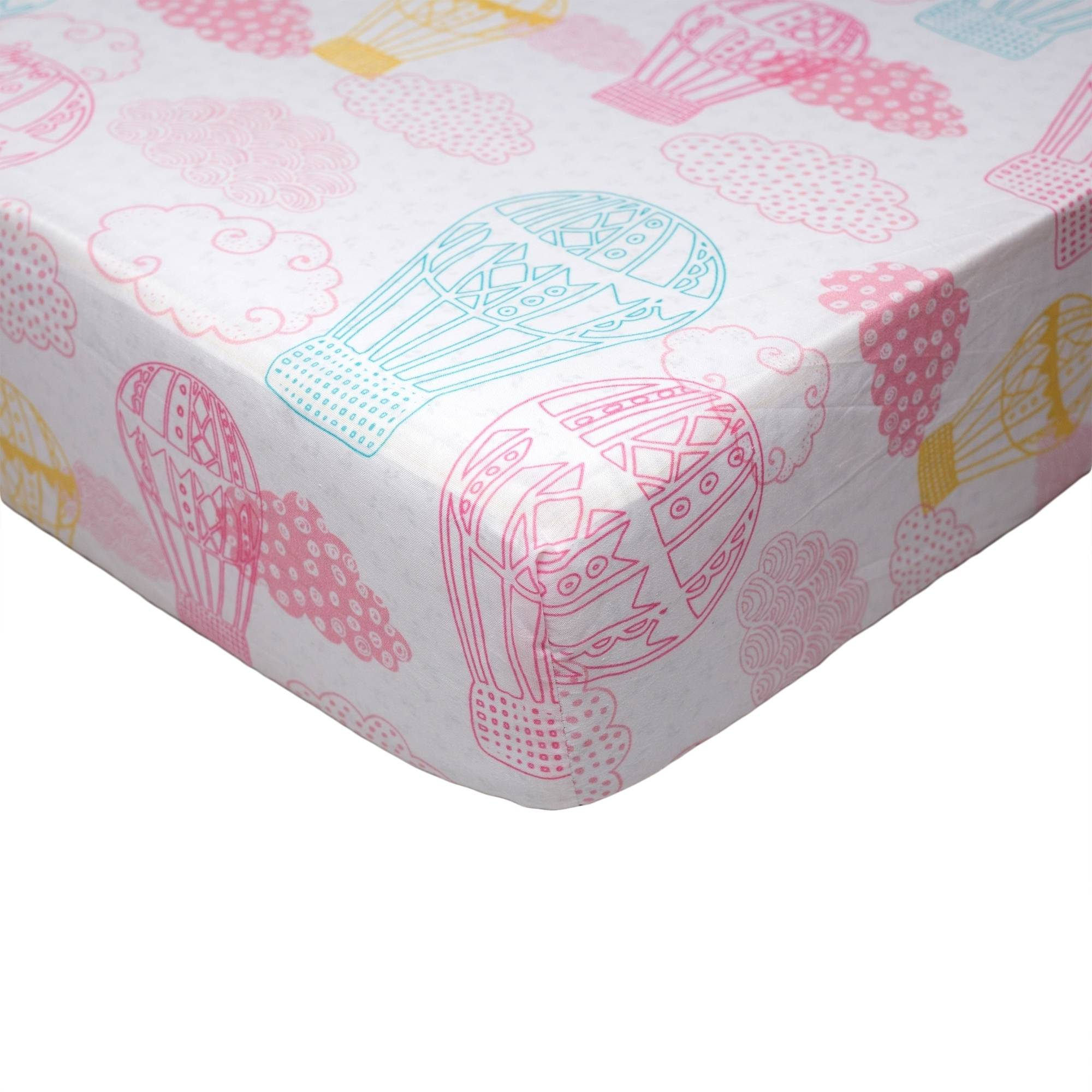 Poppi Living Dreamscape Premium Cotton Fitted Crib Sheet
