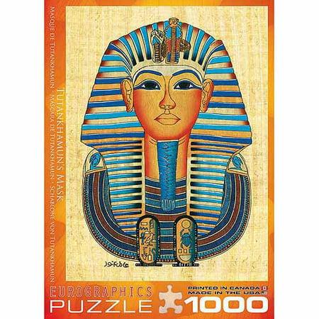 EuroGraphics Egyptian King Tut Mask 1000-Piece Puzzle