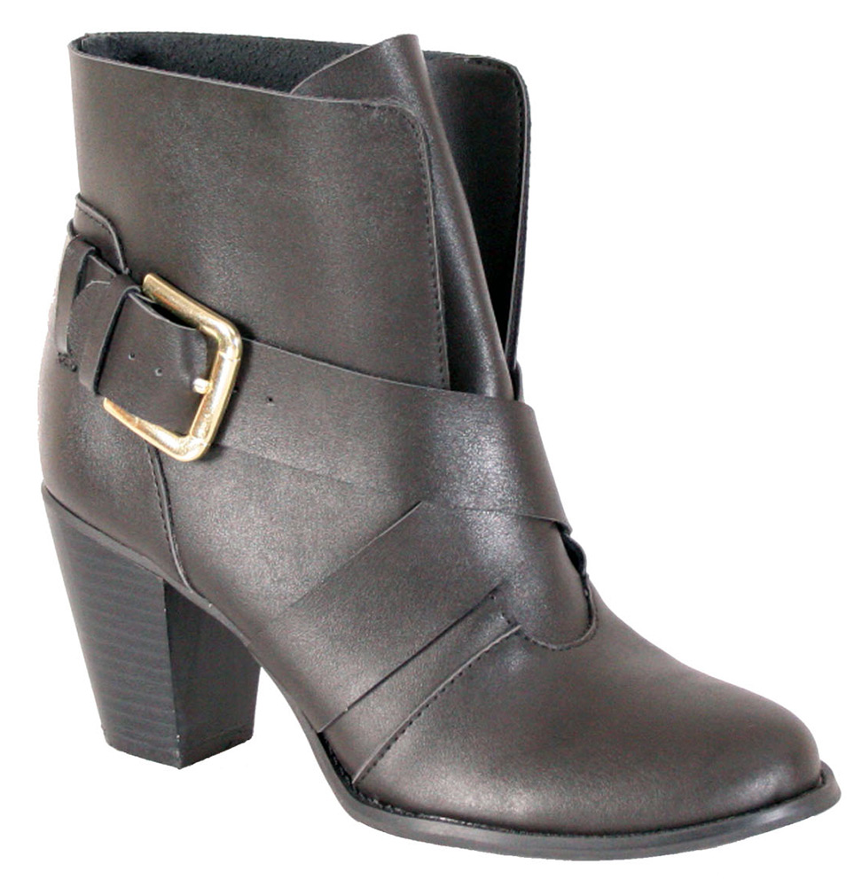 Nomad Women's Bailey Comfort Ankle Black Boots 10 M by