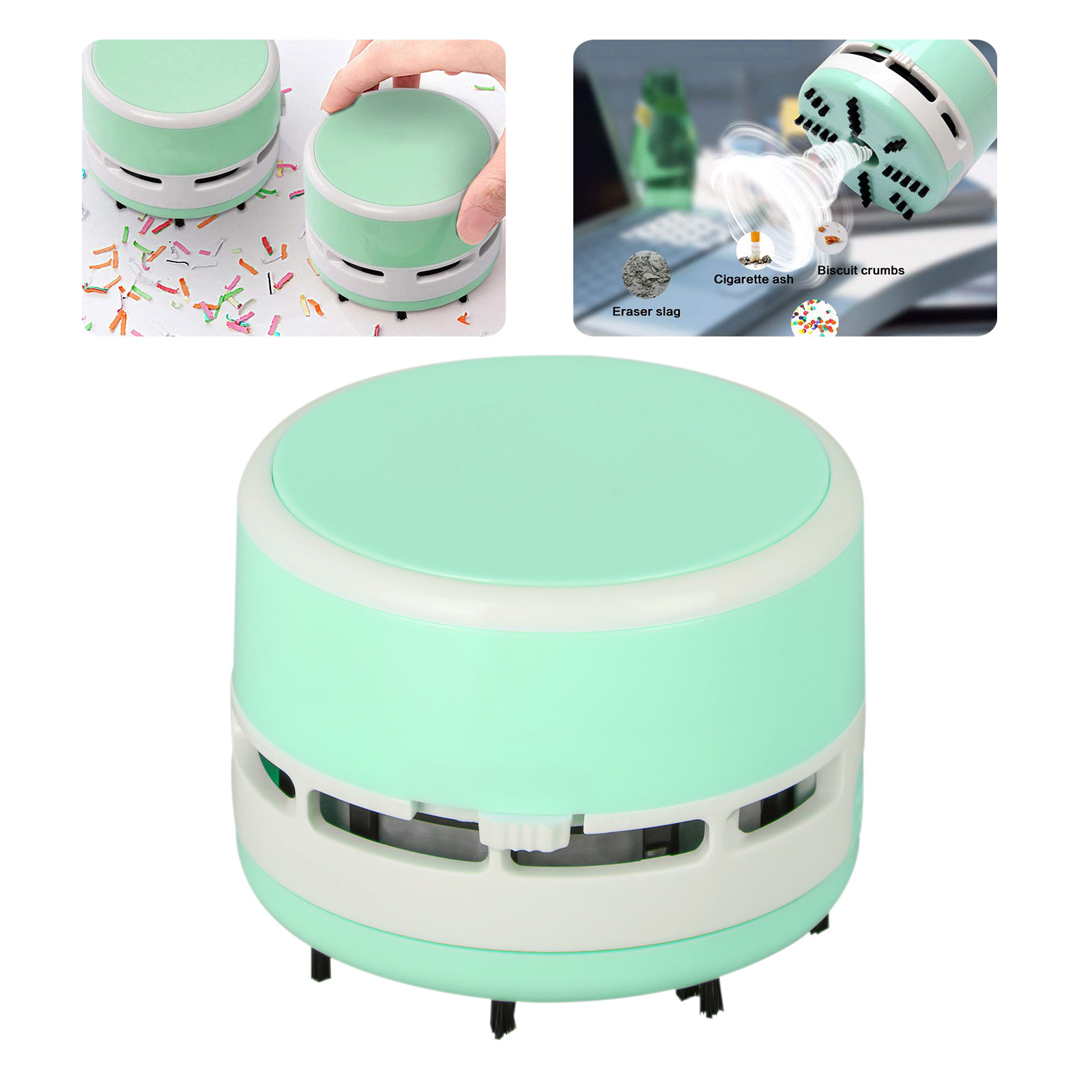 Superbe Mini Vacuum Cleaner Electric Dust Collector For Car Desktop Office Home  Table