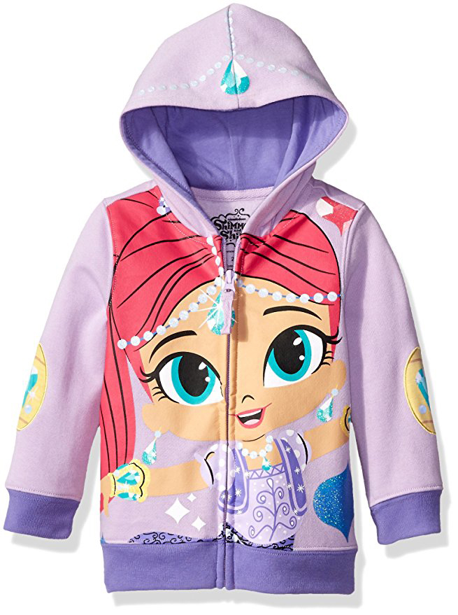 Shimmer And Shine Costume Hoodie (Little Girls)