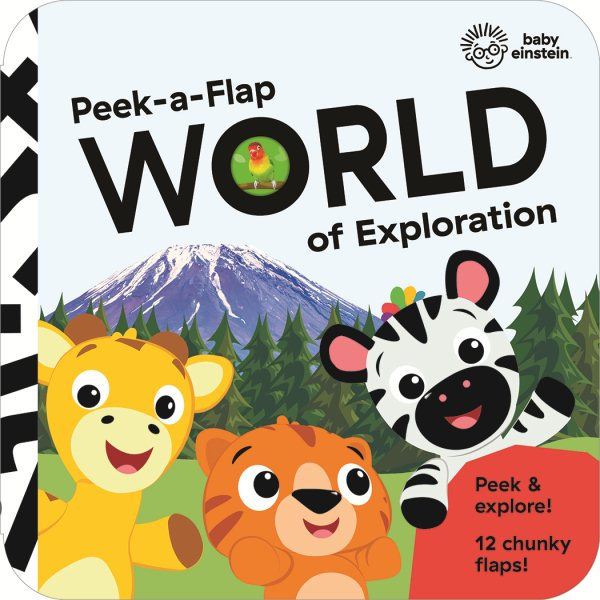 Baby Einstein - World of Exploration: Chunky Peek a Flap Board Book (Board Book)