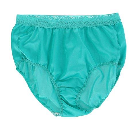 a9943cb7bdece5 Fruit of the Loom Women's Nylon Lace Trim Brief Underwear (6 Pack) - image  ...