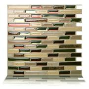 Tic Tac Tiles - Premium Anti Mold Peel and Stick Wall Tile Backsplash in Como Mare