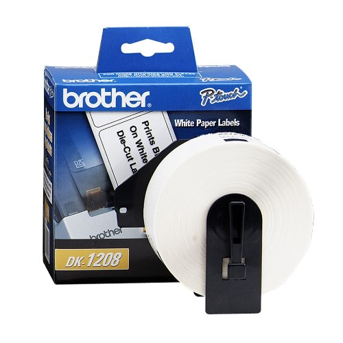 Brother International Corporat Dk1208 Dk-1208: Large Address Paper Label [400 Labels] For Use With Large Address Labe