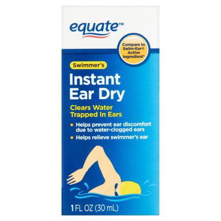 (2 Pack) Equate Swimmer's Instant Ear Dry , 1 Oz