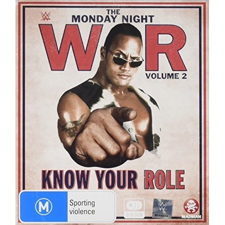 Wwe  Monday Night War Vol 2   Know Your Role  Blu Ray