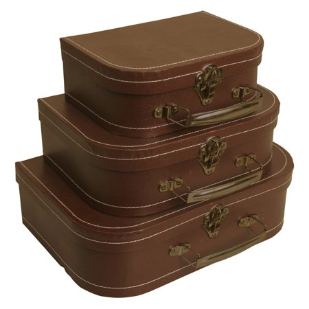 Suitcase Decor (Wald Import Decorative Suitcase - Set of)