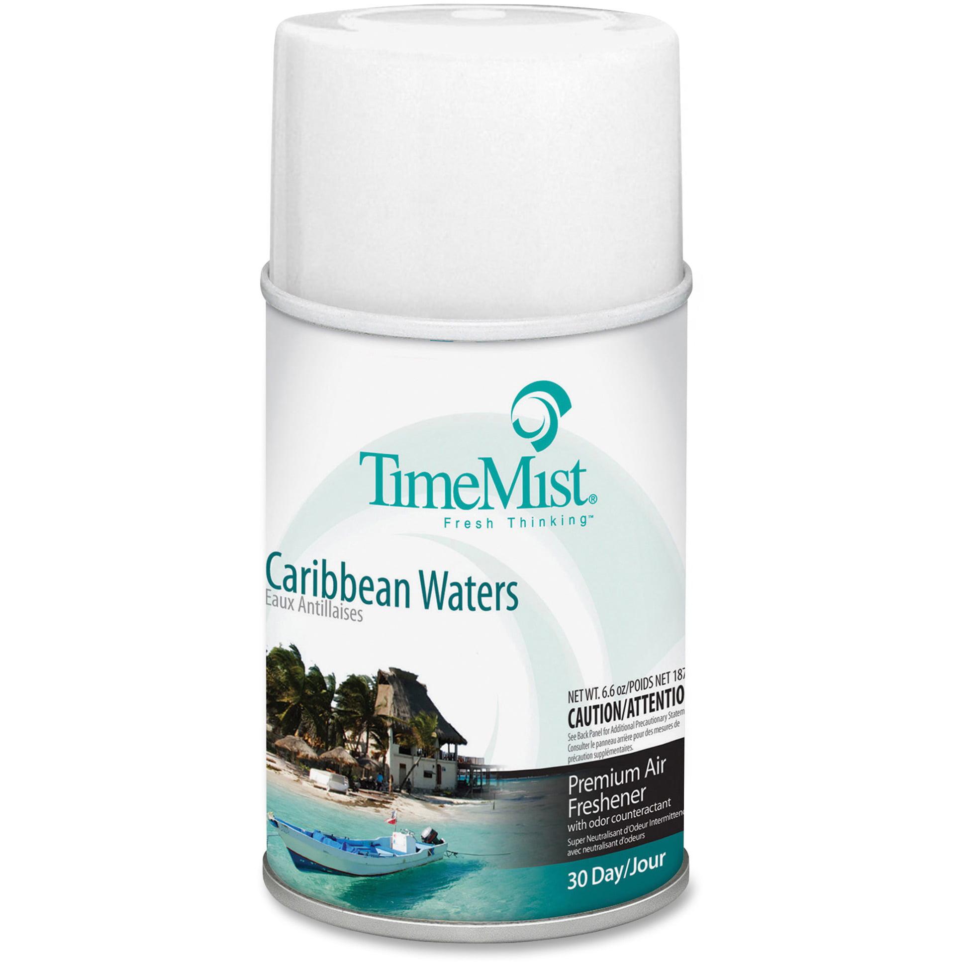 TimeMist, TMS1042756, Metered Dispenser Fragrance Spray Refill, 1 Each, Clear
