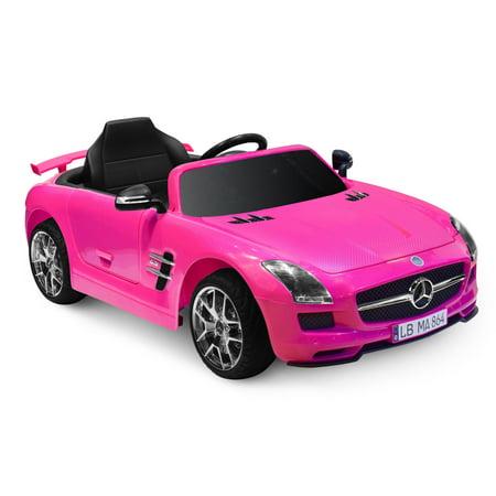 Kid Motorz Mercedes Benz SLS AMG in Pink (12V) (Mercedes Benz Cl55 Amg)