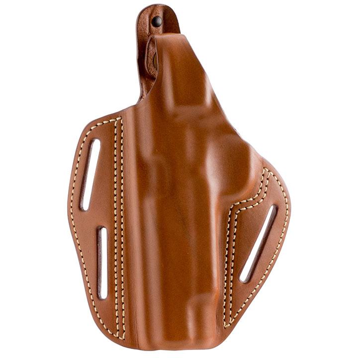BLACKHAWK! 3 Slot Leather Pancake Holster, Glock 17/22/31, Left, Brown-420003BN-L