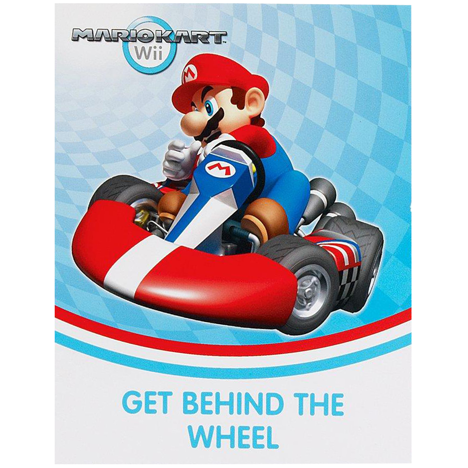 Super Mario Brothers Mario Kart Wii Party Supplies 16 Pack Invitations