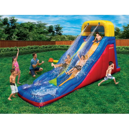 - Banzai Double Drop Raceway Water Slide