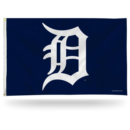 Rico Industries MLB 3' x 5' Banner Flag, Detroit Tigers Detroit Pistons Flag